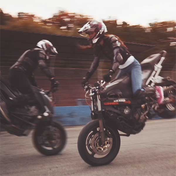 Stunted reality – a street bike freestyle stunt team