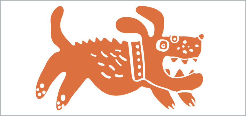 Hound Dog Films mascot